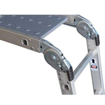Multifunctionele vouwladder 4x3