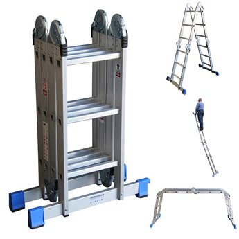 Multifunctionele vouwladder DHZ