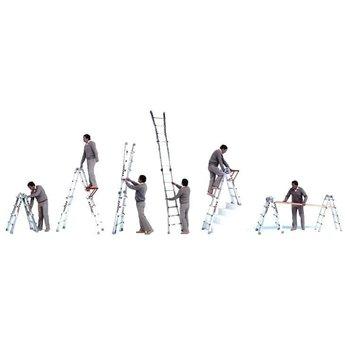 Waku Multifunctionele ladder Wakü 4x6