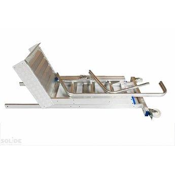 Solide Magazijntrap Industrie 10 treden
