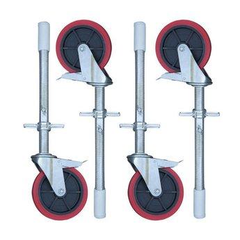 Rolsteiger Basis 90 x 250 x 10,2 meter werkhoogte met lichtgewicht platform