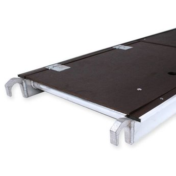 Steigeraanhanger 250 + Rolsteiger Basis 75 x 190 x 5,2 meter werkhoogte