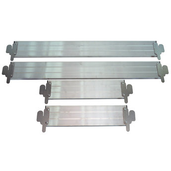 Kantplankset aluminium 75 x 190 cm