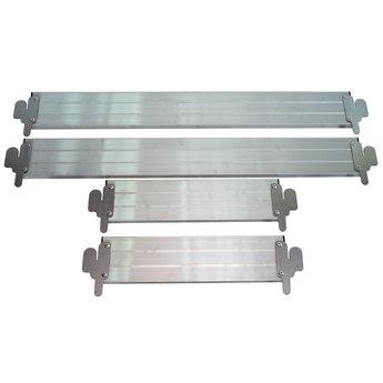 Kantplankset aluminium 75 x 250 cm