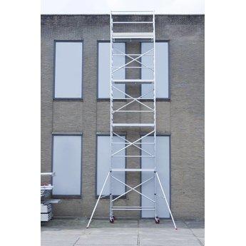 Euroscaffold Rolsteiger Basis 135 x 250 x 10,2 meter werkhoogte met lichtgewicht platform - aangepaste configuratie