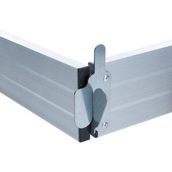 Kantplankset aluminium 135 x 305 cm