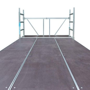 Stukadoor steiger / werkplatform 190 x 370 cm werkhoogte 3,0 meter