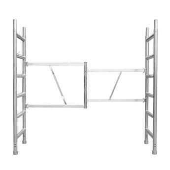 Stukadoor steiger / werkplatform 190 x 455 cm werkhoogte 3,0 meter