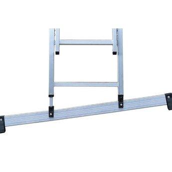 3 delige ladder Smart Level en Top Safe 3 x 8