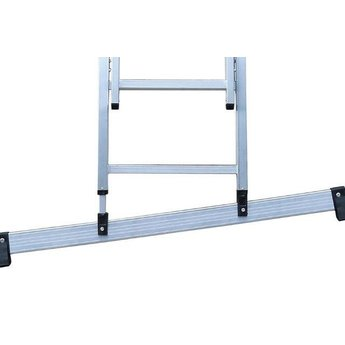 Smart Level 3 delige ladder Smart Level en Top Safe 3 x 8 | werkhoogte 6,3 m.