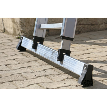 Smart Level 2 delige ladder Smart Level en Top Safe 2 x10 | werkhoogte 5,5 m.