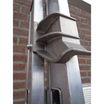 2 delige ladder Smart Level en Top Safe 2 x 14 | werkhoogte 7.3 m.