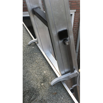 Smart Level 2 delige ladder Top Safe 2 x10 | werkhoogte 5,5 m.