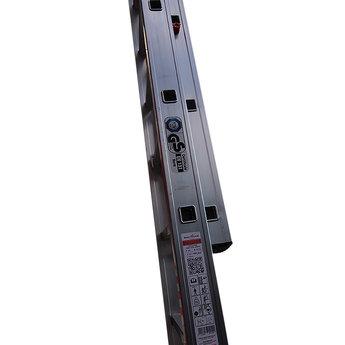 2 delige ladder Top Safe 2 x12 | werkhoogte 6,5 m.