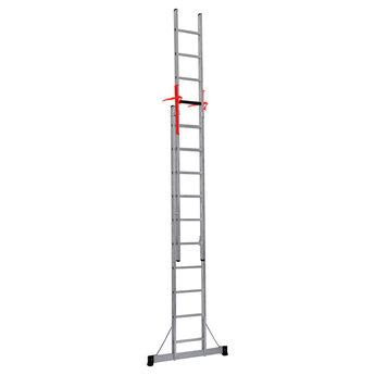 Smart Level 2 delige ladder Top Safe 2 x12 | werkhoogte 6,5 m.