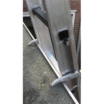 2 delige ladder Top Safe 2 x12   werkhoogte 6,5 m.