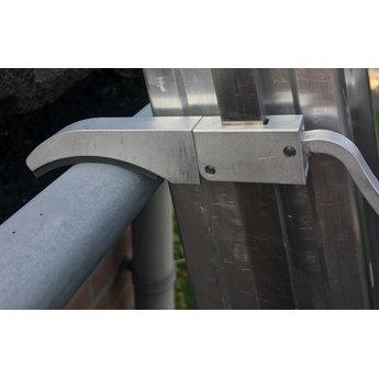 Smart Level 2 delige ladder Top Safe 2 x14 | werkhoogte 7,3 m.
