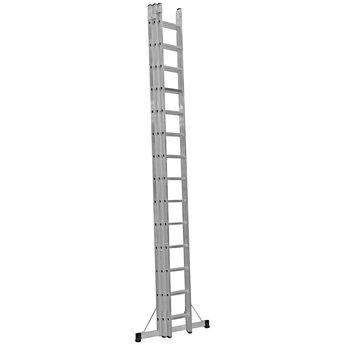 3 delige ladder Top Safe 3 x 8 | Werkhoogte 6,3 m.