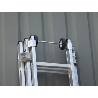 3 delige ladder Top Safe 3 x 8   Werkhoogte 6,3 m.