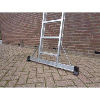 3 delige ladder Top Safe 3 x 10   werkhoogte 7,3 m.