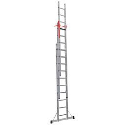 3 delige ladder Top Safe 3 x 14 | werkhoogte 9,9 m.