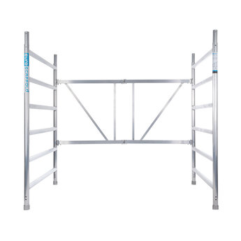 Opzetstuk kamersteiger breed (2 meter )