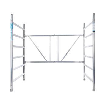 Kamersteiger 135 cm breed, werkhoogte 3,0 meter