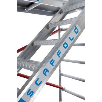 Steigertrap voor rolsteiger 250 cm