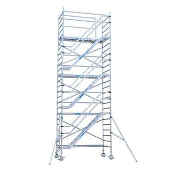 Rolsteiger Trappentoren 135 x 250  x 14,2 meter werkhoogte