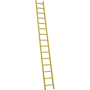 ALGA Kunststof enkele ladder GVK 1x14 treden