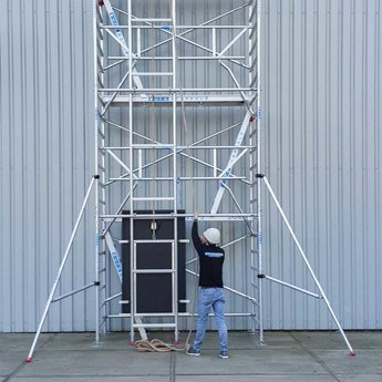 Laadplateau voor zonnepanelen lift