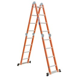 Vouwladder 4x4 Orange