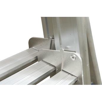 Tweedelige ladder 2x8 Maxall basic | werkhoogte 4,5 m.
