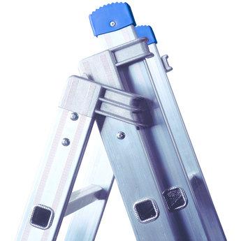 Tweedelige ladder 2x10 Maxall basic | werkhoogte 5,15 m.