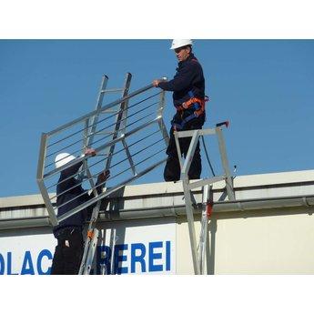 RSS dakrandbeveiliging hek / leuning 3 meter