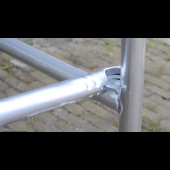 Euroscaffold Rolsteiger horizontaal schoor 400 cm