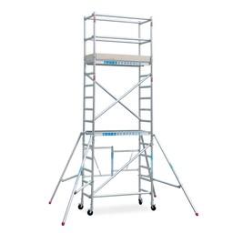 Euroscaffold Actie: Kamersteiger Compact werkhoogte 5,5 meter (module 1+2+3)