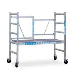 Steiger Compact werkhoogte 3 meter met verstelbare wielen