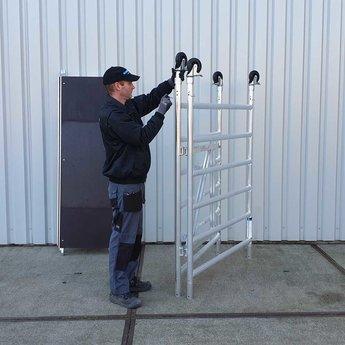 Kamersteiger 135 cm breed werkhoogte 3,0 meter