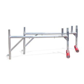 Uitwijkconsole universeel 75 x 190  cm complete set met lichtgewicht platform