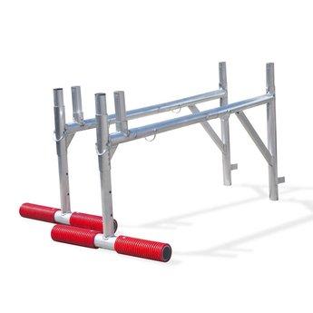 Uitwijkconsole universeel 75 x 250 cm complete set met lichtgewicht platform