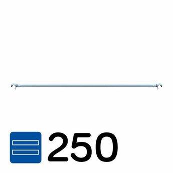 Rolsteiger horizontaal schoor 250 cm