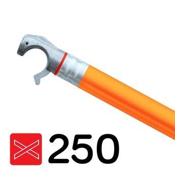 Euroscaffold Rolsteiger diagonale schoor met oranje coating geschikt voor rolsteigers met een lengte van 250 cm