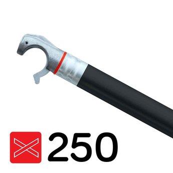 Euroscaffold Rolsteiger diagonale schoor met zwarte coating geschikt voor rolsteigers met een lengte van 250 cm