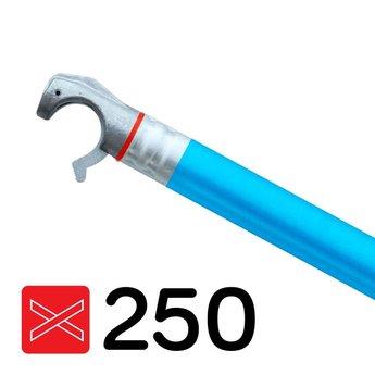 Euroscaffold Rolsteiger diagonale schoor met blauwe coating geschikt voor rolsteigers met een lengte van 250 cm