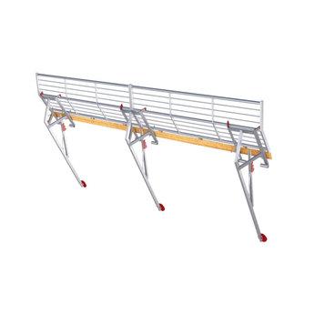 RSS dakrandbeveiliging complete set 2x6 meter