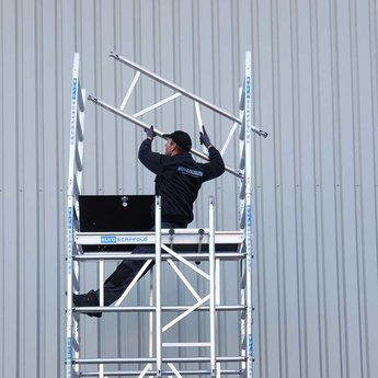 Euroscaffold Eenpersoons rolsteiger 6,2 meter werkhoogte