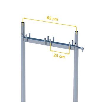 Verticaal frame 65 cm x 200 cm Gevelsteiger Super
