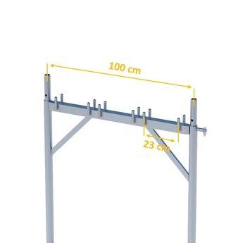 Verticaal frame 100 cm x 200 cm Gevelsteiger Super