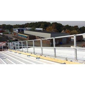 Roof Shelter kopgevelbeveiliging complete set 3 meter